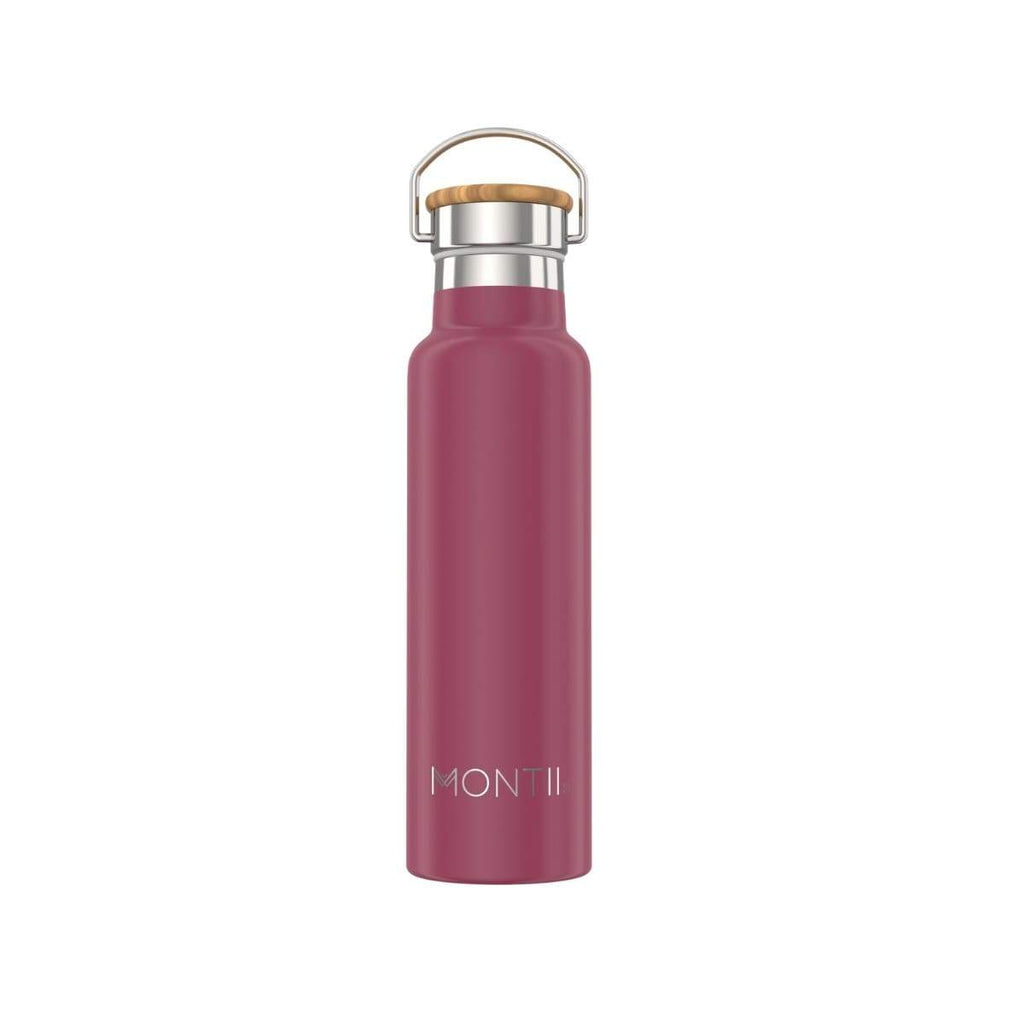 MontiiCo - 600ml Original Drink Bottle [Burgundy]