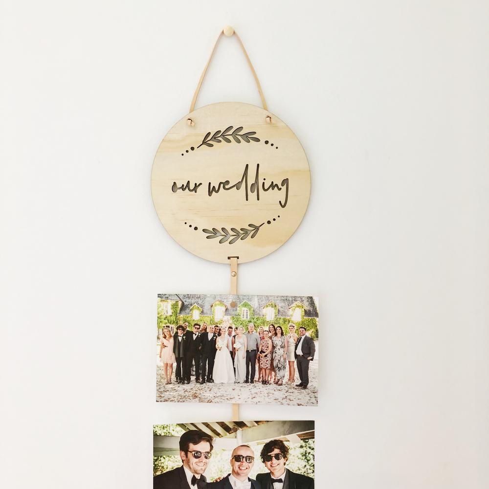 Our Wedding Memory Drop - by T-Leaf Collections