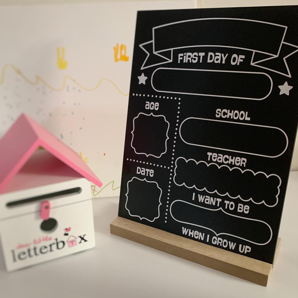 First Day Of School/Kinder Board