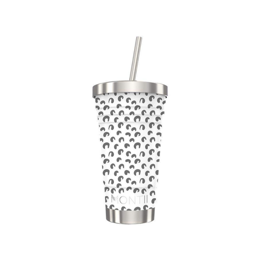 MontiiCo - Original Smoothie Cup [White Leopard]