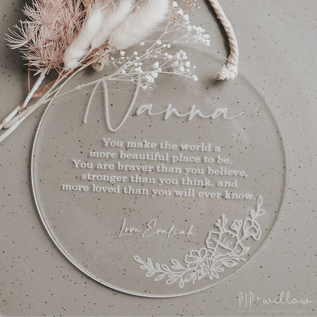 Mother's Day Personalised Wall Plaque