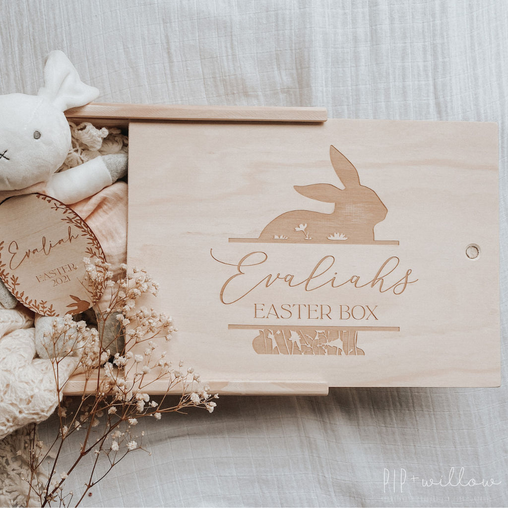 Personalised Easter Keepsake Box