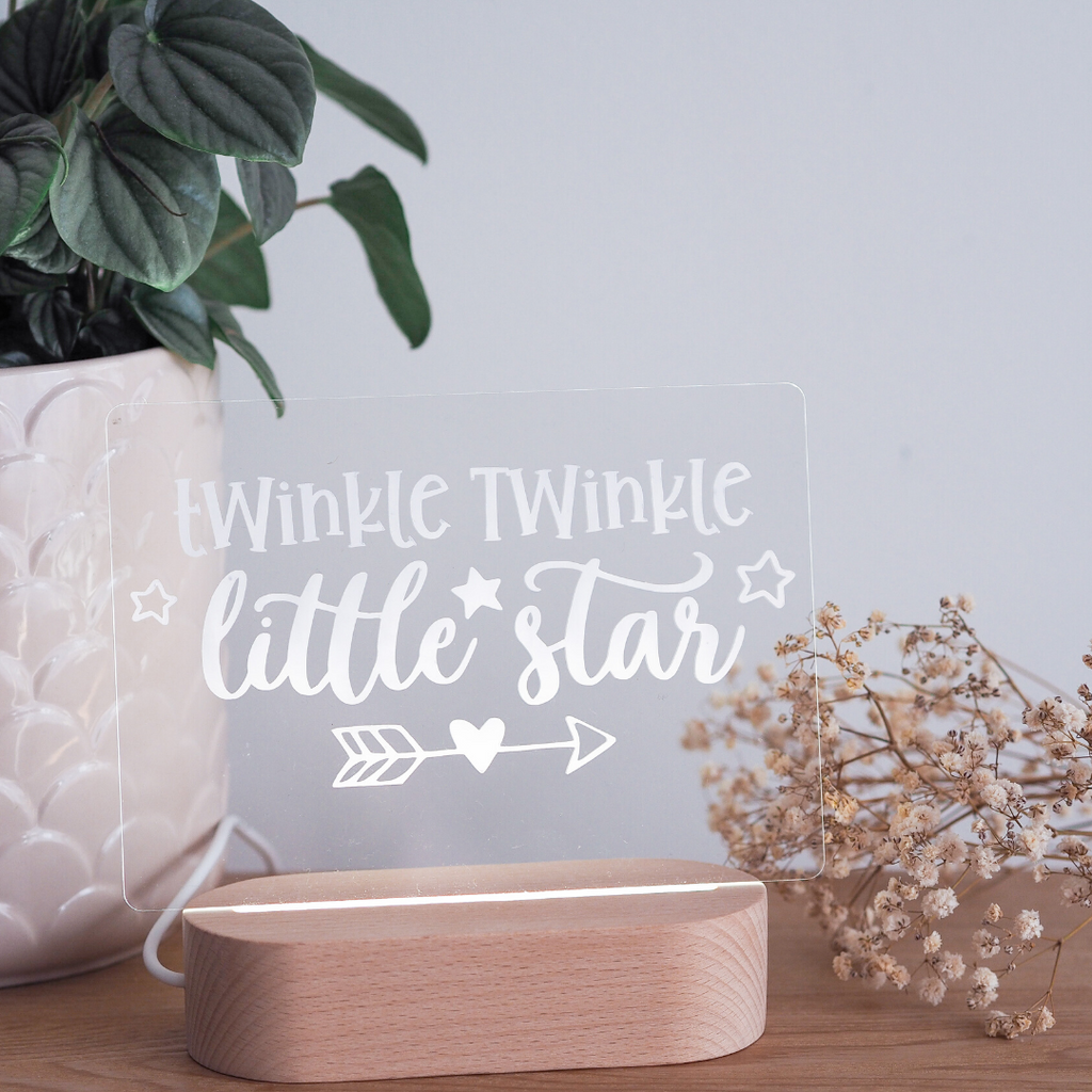 'Twinkle Twinkle' LED Night Light