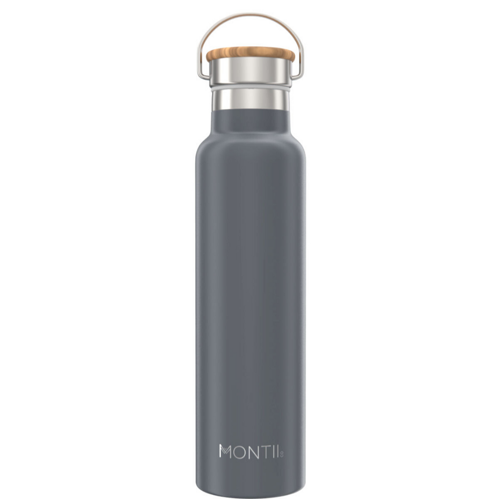 Montiico - 1L Mega Drink Bottle [Grey]