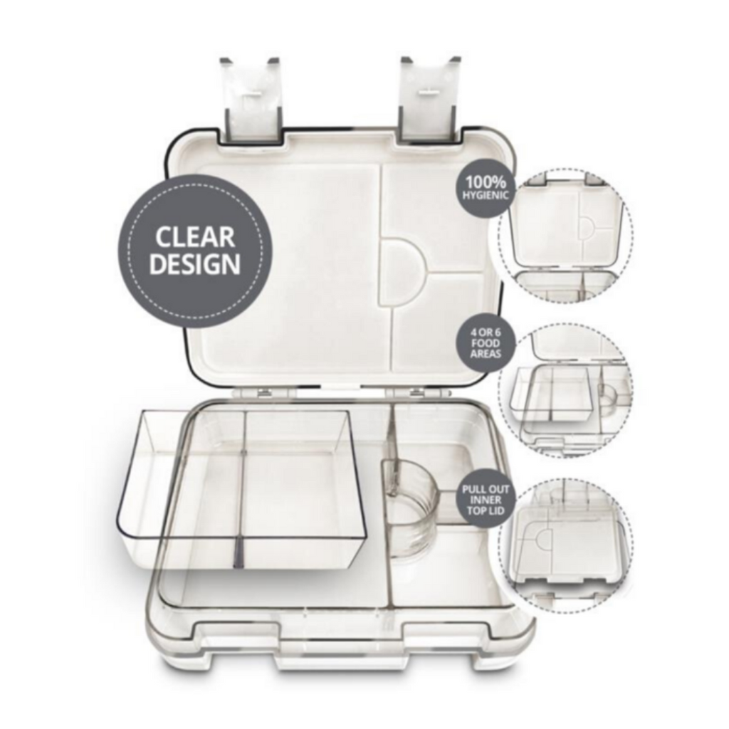 My Family - Clear Easy Clean Bento Lunchbox