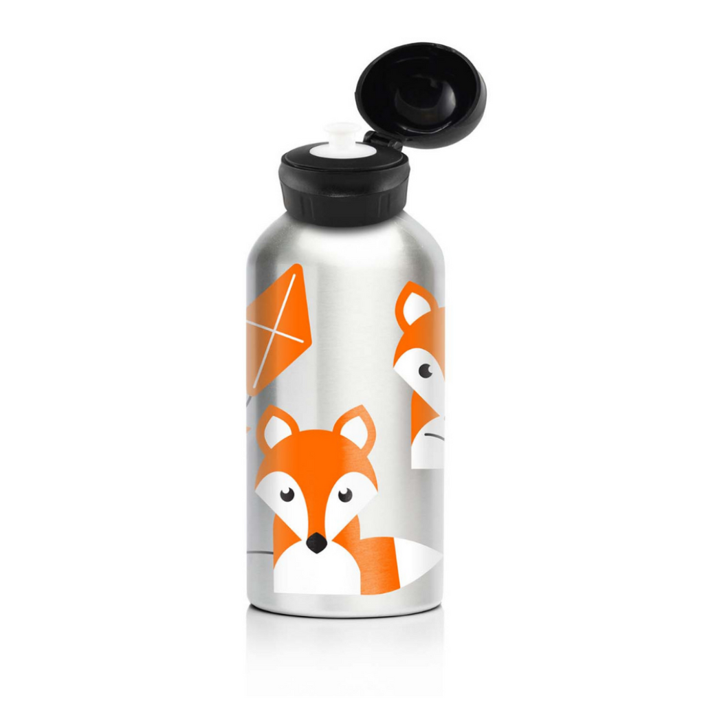 My Family - 400ml Stainless Steel Bottle [Foxy]