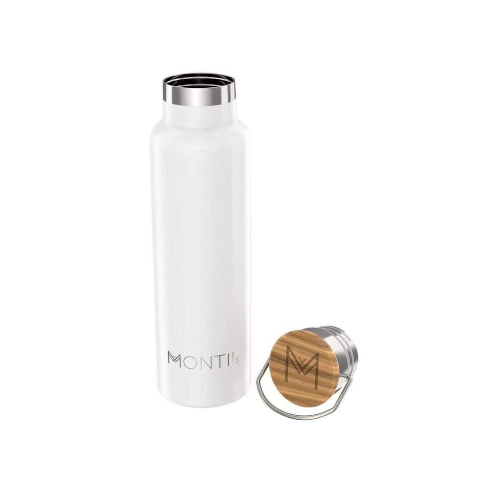MontiiCo - 600ml Original Drink Bottle [White]