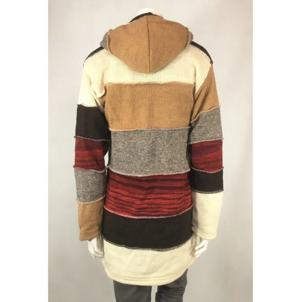 Laundromat handcrafted sweater coat