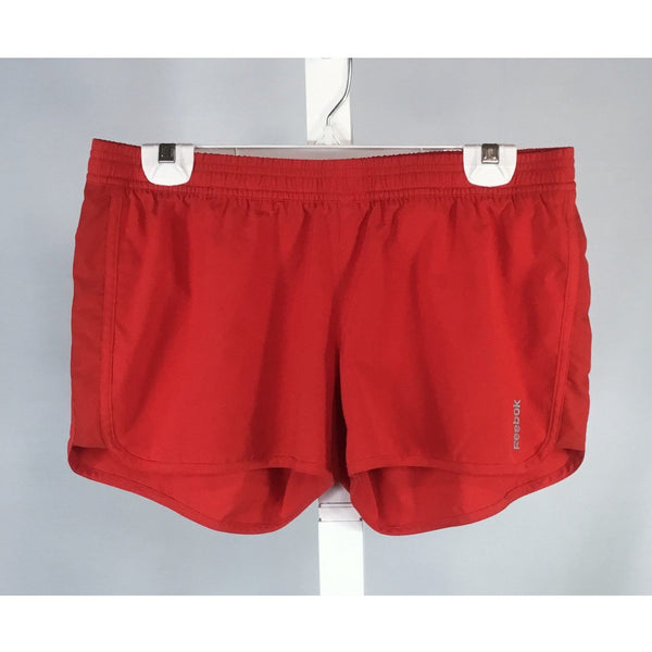 Reebok red athletic shorts