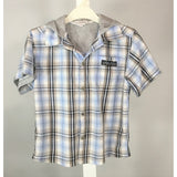 LaPierre Plaid Shirt with Hood - size 3T
