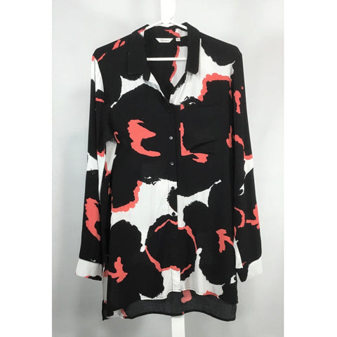 Reitman's Abstract Print Tunic Blouse - Discoveries size M