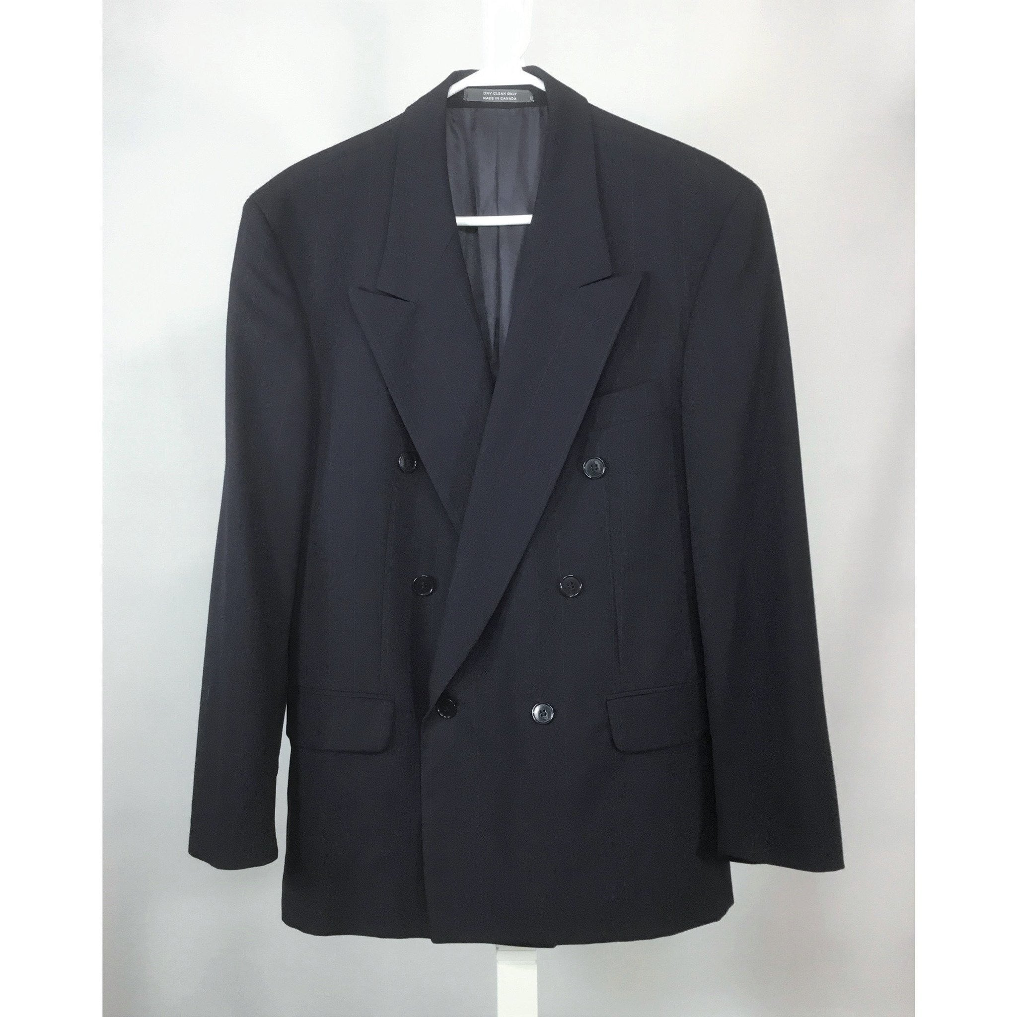 John Pomer double breasted blazer