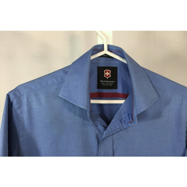 Victorinox Blue Sport Shirt - men's size S, youth size XL