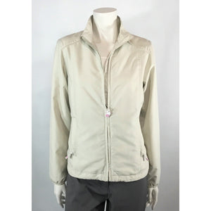 Foursome lightweight jacket in oyster