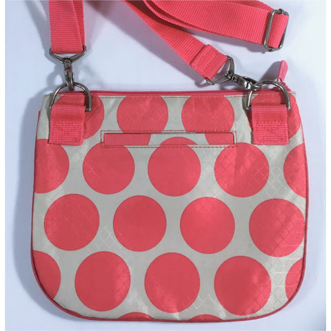 Thirty One Pink Polka Dot Purse