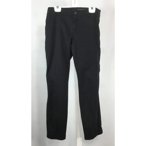 Gap Crop Style Khakis in Black - Discoveries size M