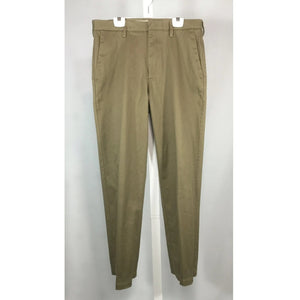 men's Haggar tan cotton pants