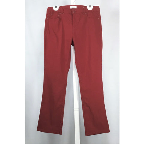 Reitman's Cranberry Pants - Discoveries size M