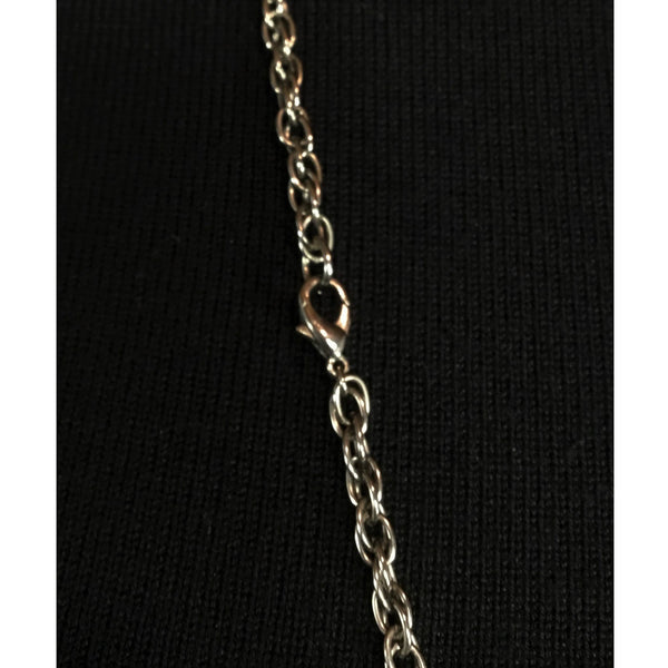 'Blackened' Silver Chain