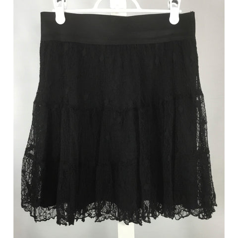 RW & Co. Black Lace Skirt - Discoveries size S