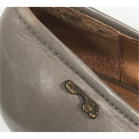 Naked Feet Handmade Grey Leather Pumps  (size 8M)