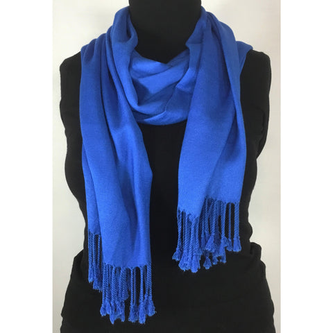 Royal Blue Soft Scarf