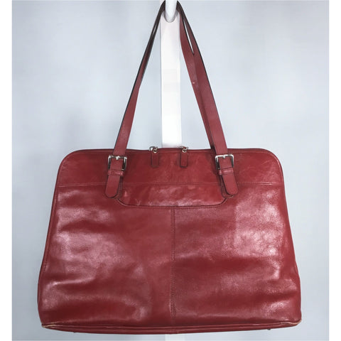 Danier Red Leather Bag