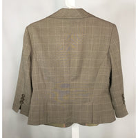 Jessica Tan Check Blazer - Discoveries size M