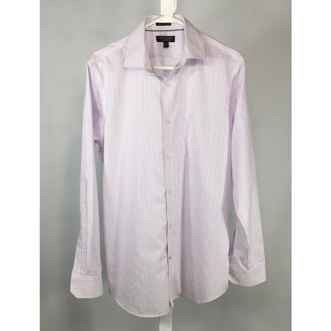 Banana Republic Shirt with Pale Purple Stripes - size M