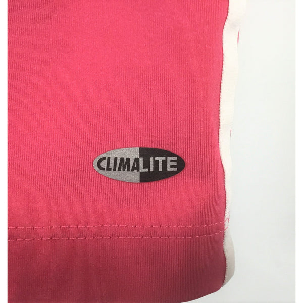 Adidas pink tank top label