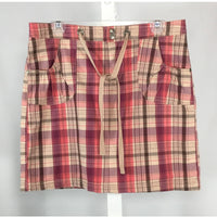 Denver Hayes Plaid Skort - Discoveries size M