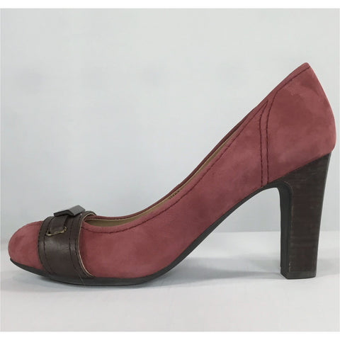 Geox Rose Suede Heels - size 36