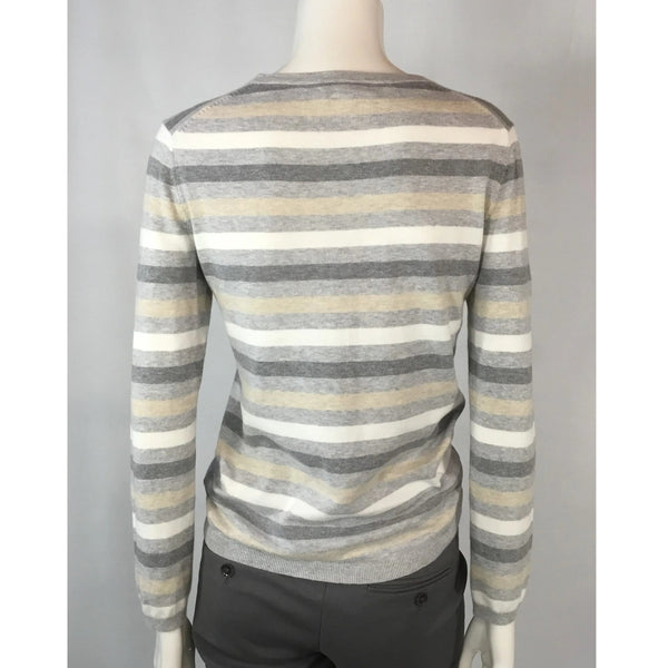 Tommy Hilfiger Striped Cotton V-Neck - Discoveries size S, M