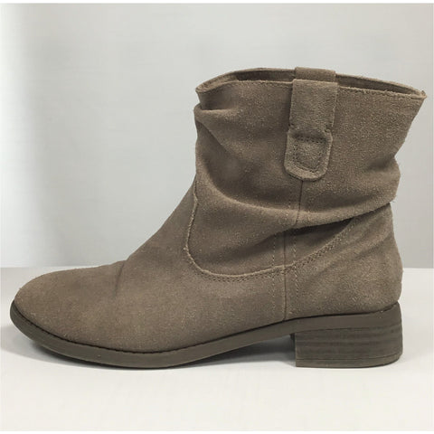 American Eagle Taupe Suede Ankle Boots - size 7
