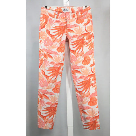 Old Navy Tropical Skinny Jeans - Discoveries size XS, Youth size L