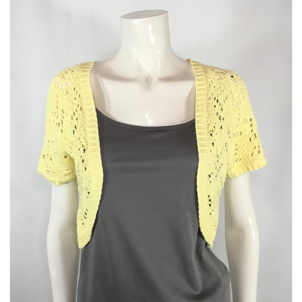 Old Navy Lemon Colour Shrug - Discoveries size S