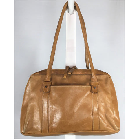 Madison Studio Tan Leather Handbag