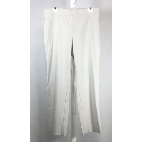 Tradition Oyster Colour Pull On Pants - Discoveries size M