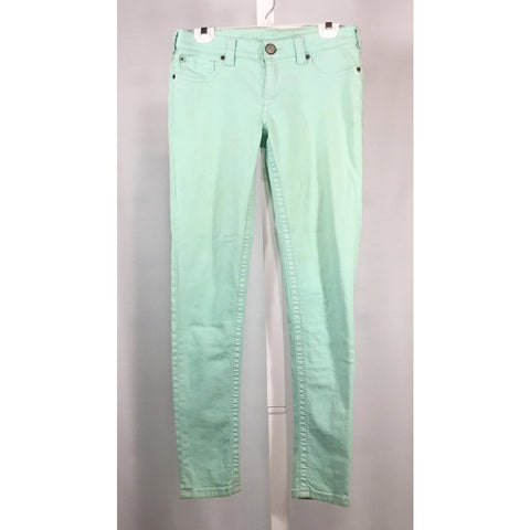 Bootlegger Skinny Jeans in Mint - Discoveries size S