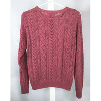 Berkentex Dusty Rose Lacy Sweater - Discoveries size M