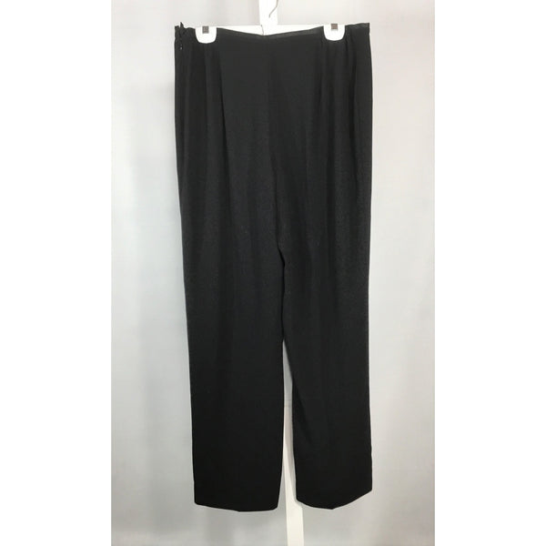 Jacques Vert Flowing Black Pants - Discoveries size L