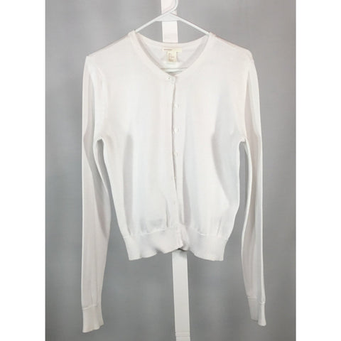 H & M White Cardigan - Discoveries size S