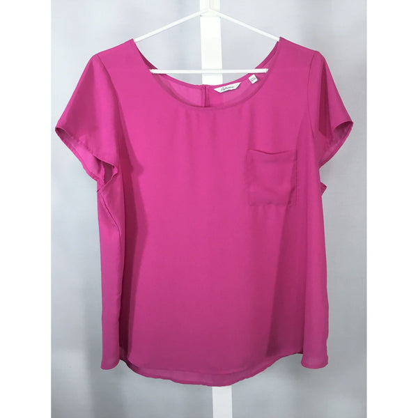 Reitman's Pink Blouse - Discoveries size XL