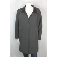 Athletic Works grey coat front view