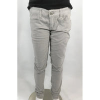 American Eagle grey cords front view
