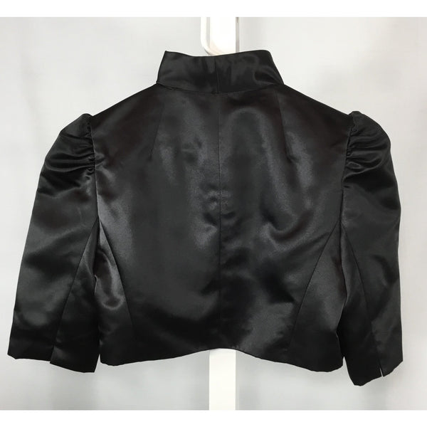 Maggy London Satin Ruffled Bolero - Discoveries size S
