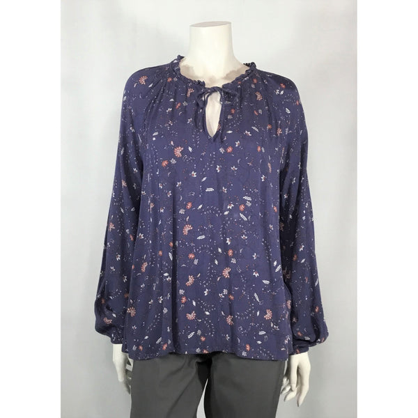 Gap Blue Flowered Blouse - Discoveries size S, M