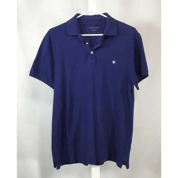 Club Monaco Royal Blue Polo Shirt - size S