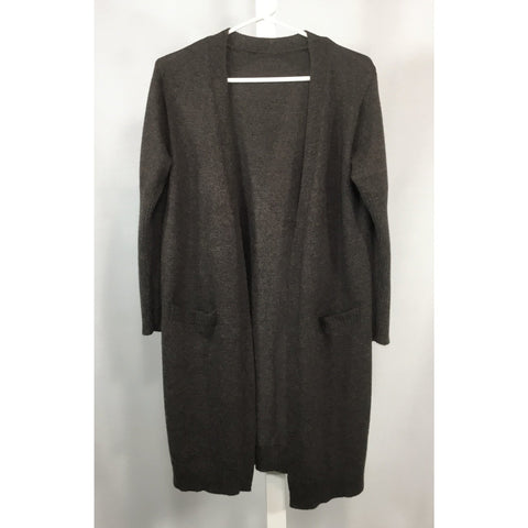 Brown Heather Long Cardigan - Discoveries size S, M