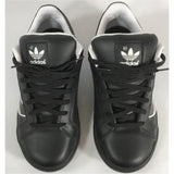 Adidas black shoes top view